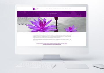 Création site internet vitrine pour YUZI © CIMAJINE