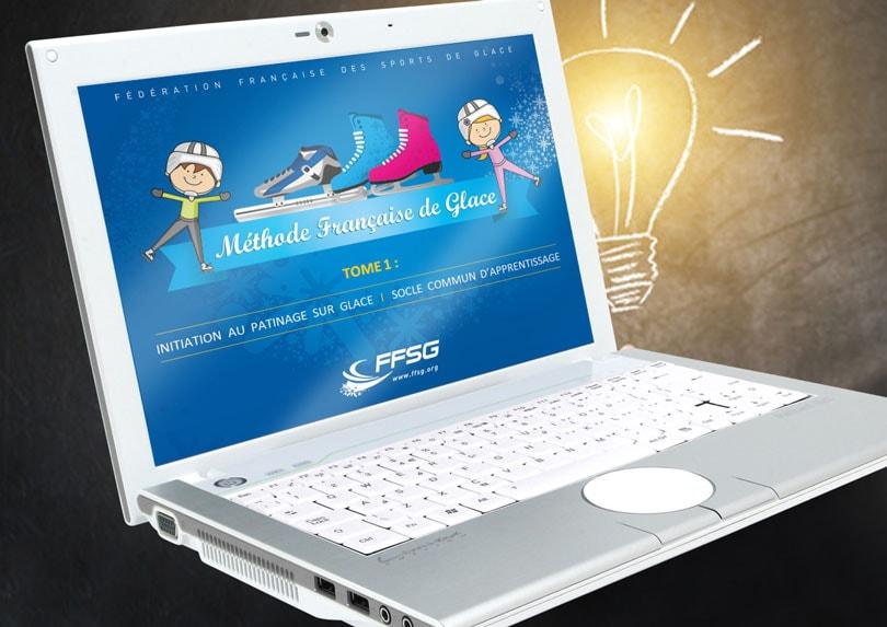 Création d'un diaporama powerpoint interactif Méthode Française de Glace © CIMAJINE Image