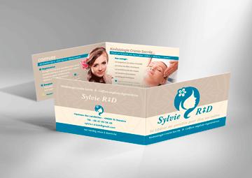 Création logo et cartes de visite pour Sylvie Rambaud © CIMAJINE