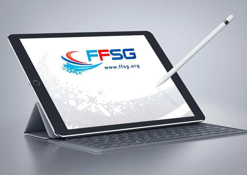 Création du logo et charte graphique de la Fédération Française des Sports de Glace Image