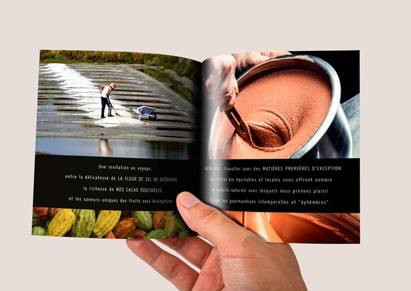 Plaquette et fiches produits pour L'attelier Image